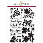 Altenew - Clear Acrylic Stamps - Floral Shadow