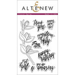 Altenew - Clear Photopolymer Stamps - Floral Sprig