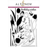 Altenew - Clear Acrylic Stamps - Tulip