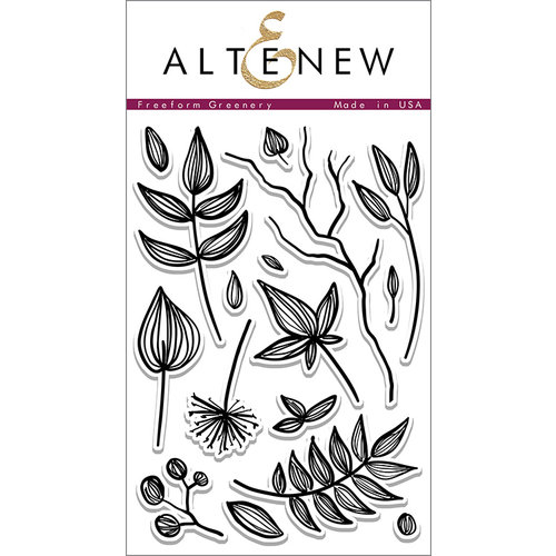 Altenew - Clear Photopolymer Stamps - Freeform Greenery