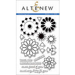 Altenew - Clear Acrylic Stamps - Dodecagram