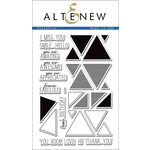 Altenew - Clear Acrylic Stamps - Sohcahtoa