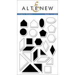 Altenew - Clear Acrylic Stamps - Simple Shapes