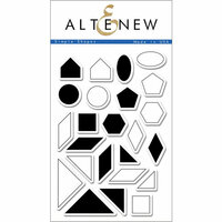 Altenew - Clear Photopolymer Stamps - Simple Shapes