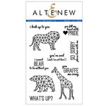 Altenew - Clear Photopolymer Stamps - Geometric Menagerie