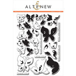 Altenew - Clear Acrylic Stamps - Painted Butterflies