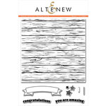 Altenew - Clear Acrylic Stamps - Wood Pallet Background