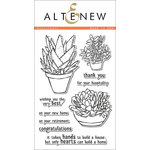 Altenew - Clear Acrylic Stamps - Succulents