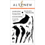 Altenew - Clear Acrylic Stamps - Winter Cardinal