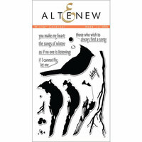 Altenew - Clear Photopolymer Stamps - Winter Cardinal
