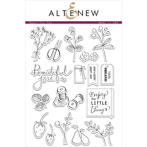 Altenew - Clear Photopolymer Stamps - Beautiful You