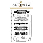 Altenew - Clear Acrylic Stamps - Birthday Bash