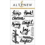 Altenew - Clear Acrylic Stamps - Lyrical Script