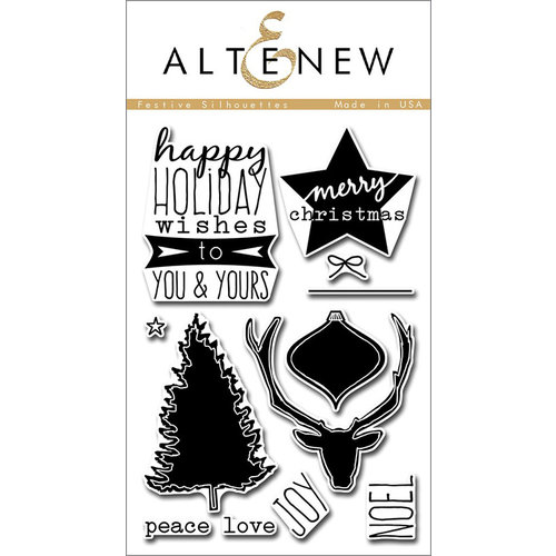 Altenew Festive Silhouettes