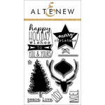 Altenew - Clear Photopolymer Stamps - Festive Silhouettes