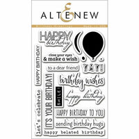 Altenew - Clear Photopolymer Stamps - Birthday Greetings