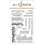 Altenew - Clear Acrylic Stamps - Halftone Holidays
