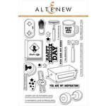 Altenew - Clear Photopolymer Stamps - Best Dad