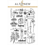 Altenew - Clear Acrylic Stamps - Celebrations