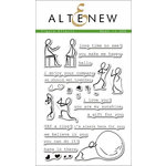 Altenew - Clear Acrylic Stamps - Figure Effects