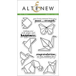 Altenew - Clear Photopolymer Stamps - Ori Kami