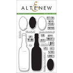 Altenew - Clear Acrylic Stamps - Bottleful of