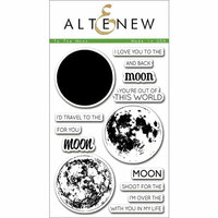 Altenew - Clear Photopolymer Stamps - To the Moon