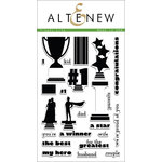 Altenew - Clear Acrylic Stamps - Trophy Life