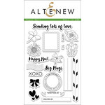 Altenew - Clear Acrylic Stamps - Happy Mail