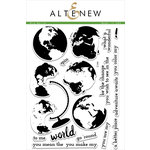 Altenew - Clear Acrylic Stamps - Big World