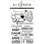 Altenew - Clear Acrylic Stamps - Doctors Rule
