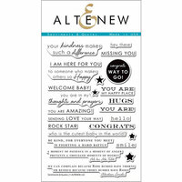 Altenew - Clear Photopolymer Stamps - Sentiments and Quotes
