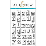 Altenew - Clear Acrylic Stamps - Invisible Alpha