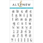 Altenew - Clear Acrylic Stamps - Modern Deco Alpha