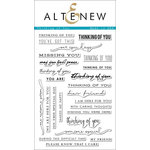 Altenew - Clear Acrylic Stamps - Thinking of You