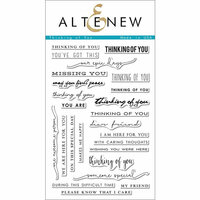 Altenew - Clear Photopolymer Stamps - Thinking of You
