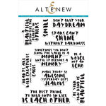 Altenew - Clear Acrylic Stamps - Painted Inspiration