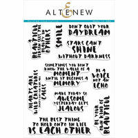 Altenew - Clear Photopolymer Stamps - Painted Inspiration