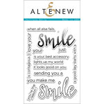 Altenew - Clear Acrylic Stamps - Halftone Smile