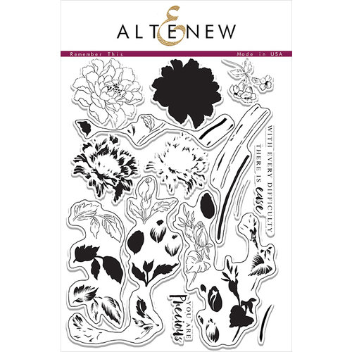 Altenew - Clear Photopolymer Stamps - Remember This