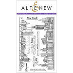 Altenew - Clear Photopolymer Stamps - Sketchy Cities America