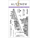 Altenew - Clear Acrylic Stamps - Sketchy Cities Abroad