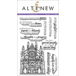 Altenew - Clear Acrylic Stamps - Sketchy Landmarks