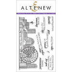 Altenew - Clear Photopolymer Stamps - Sketchy Cities America 2
