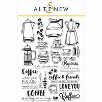 Altenew - Clear Photopolymer Stamps - Coffee Love
