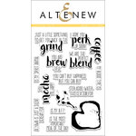 Altenew - Clear Photopolymer Stamps - Coffee Talk