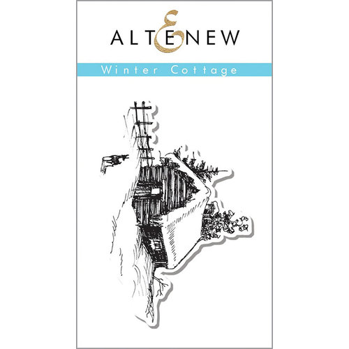Altenew - Clear Photopolymer Stamps - Winter Cottage