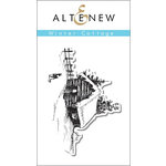 Altenew - Clear Acrylic Stamps - Winter Cottage