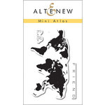 Altenew - Clear Acrylic Stamps - Mini Atlas