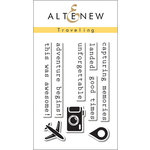 Altenew - Clear Acrylic Stamps - Traveling